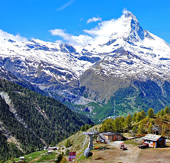 self-guided walking and trekking in the alps