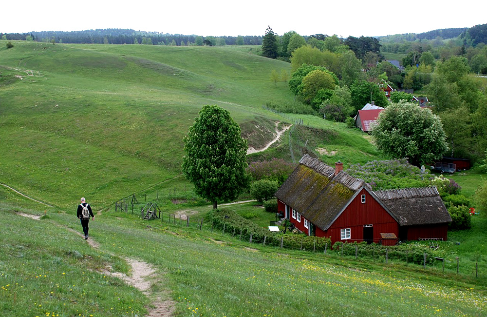 sweden self-guided walking tour