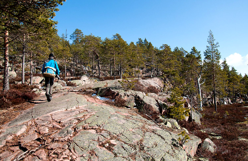sweden self-guided walking holidays