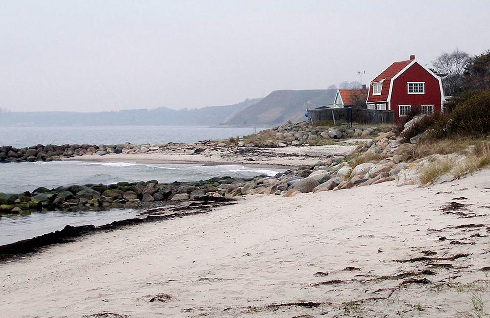 walking inn to inn in sweden