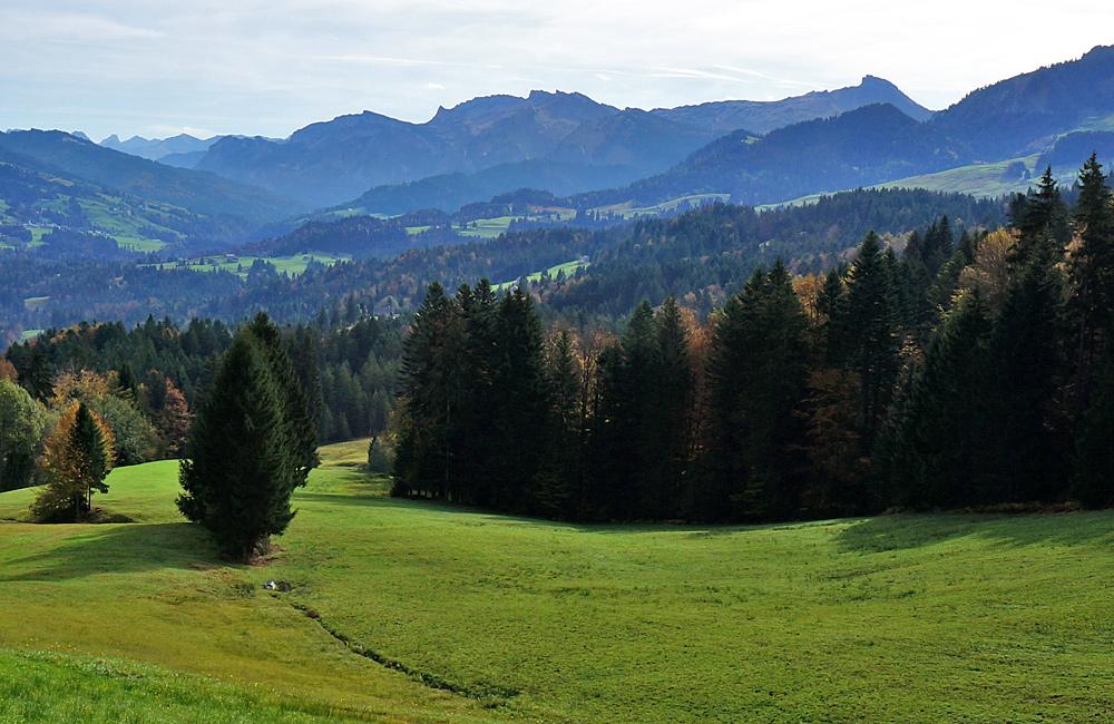 self-guided walking in austria, bregenz