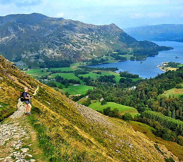 england coast to coast self-guided trek