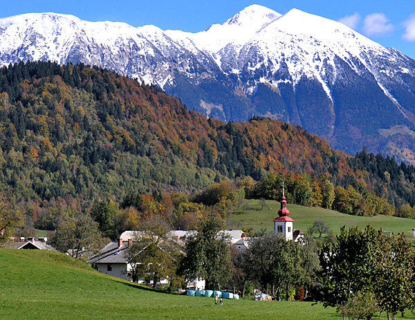 self-guided walking slovenia