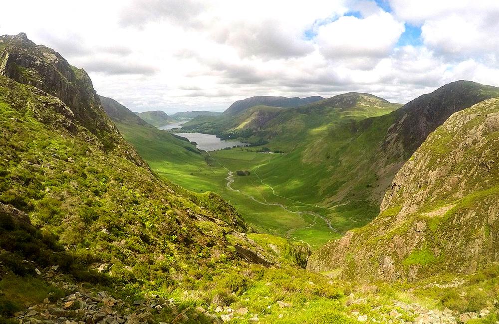england long distance hiking