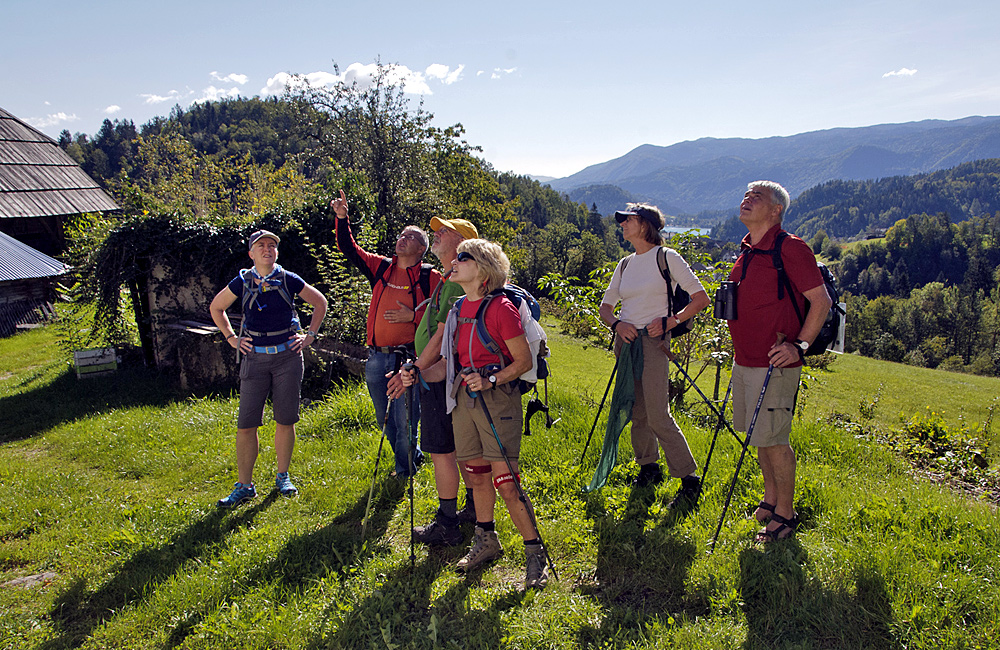 inn to inn self-guided walking in slovenia