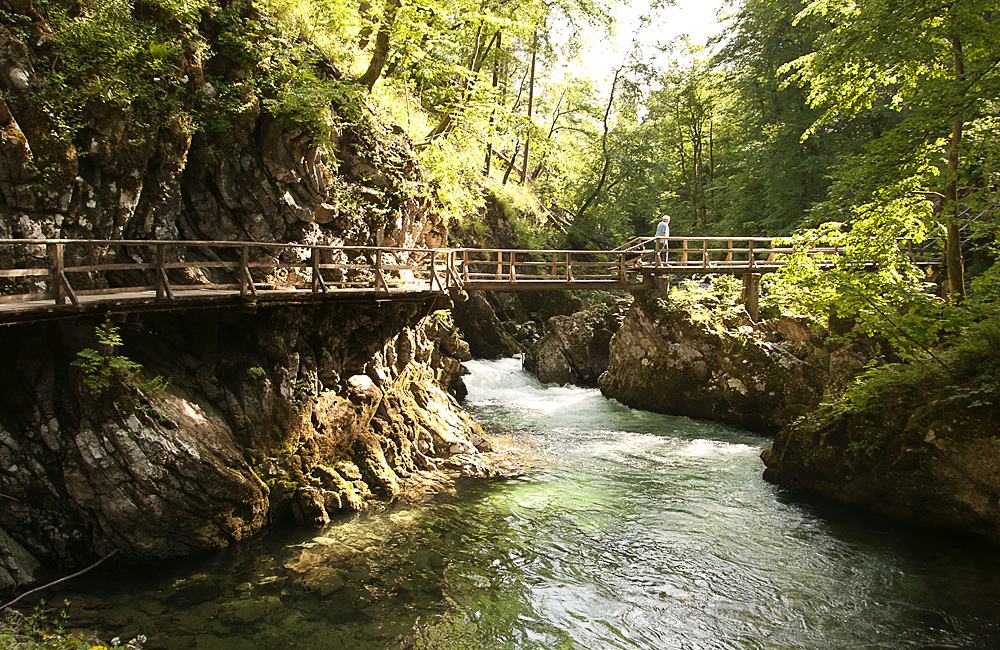 unguided trekking and walking in slovenia