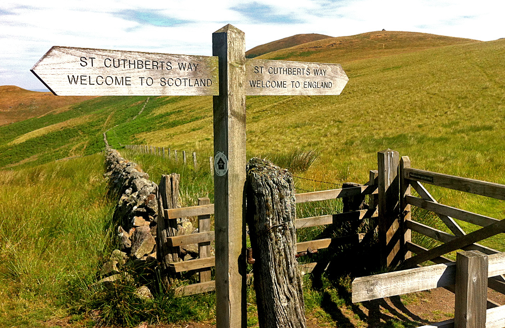 st cuthbert's way inn to inn unguided trekking