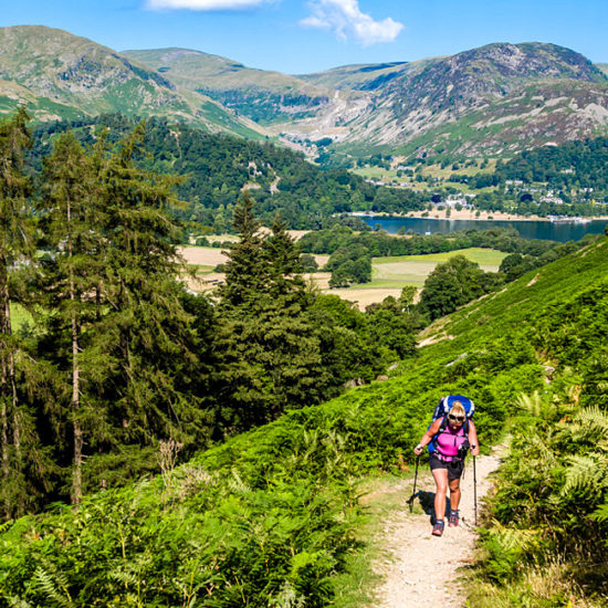 independent trekking in england coast to coast
