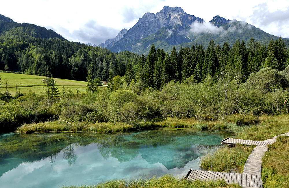 self-guided walking and trekking slovenia