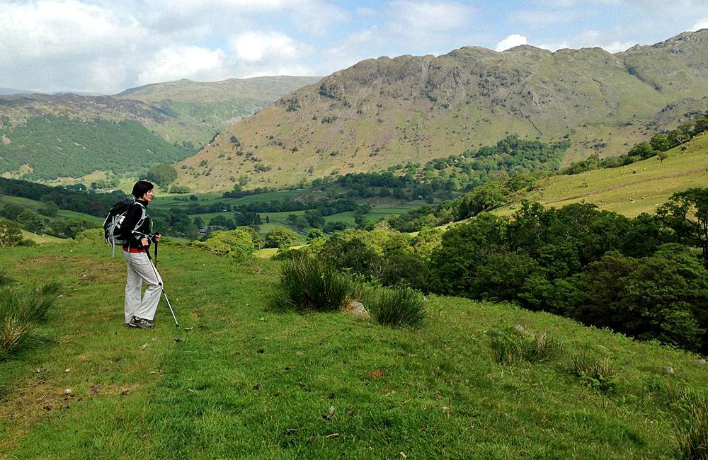 coast to coast unguided hiking england