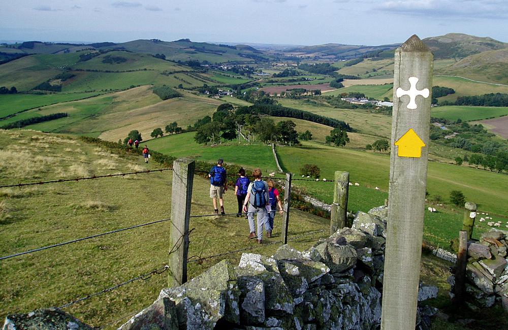st cuthbert's way self-guided trekking