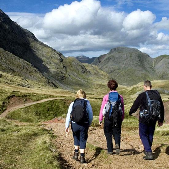 coast to coast self-guided hiking england