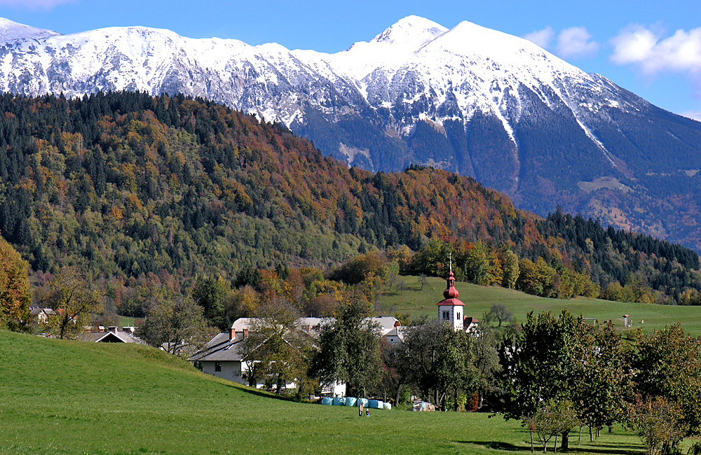 walking and trekking in slovenia