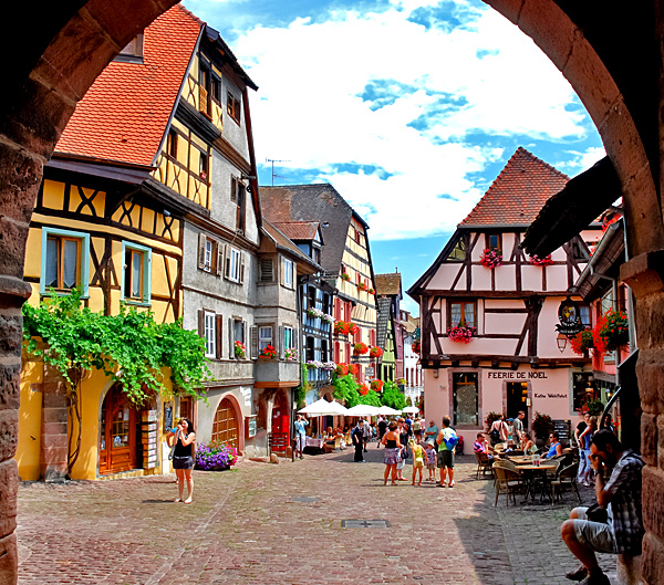 alsace self-guided hiking tour in france