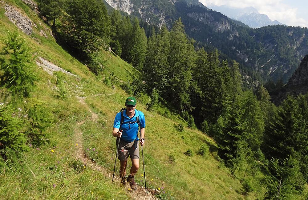 self-guided hiking around salzburg, austria