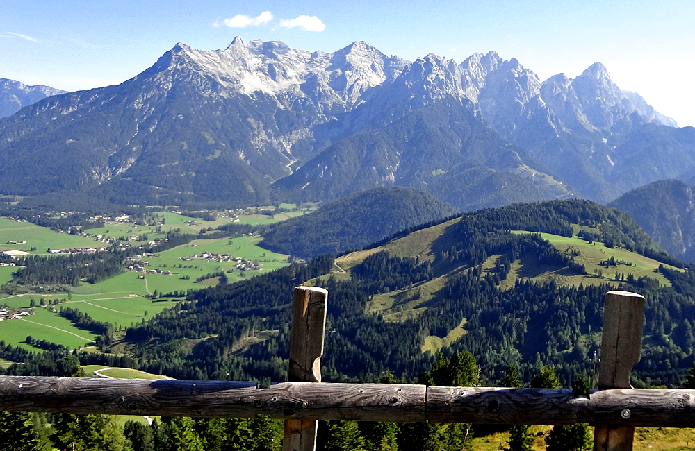 salzburg kitzbühel alps trekking