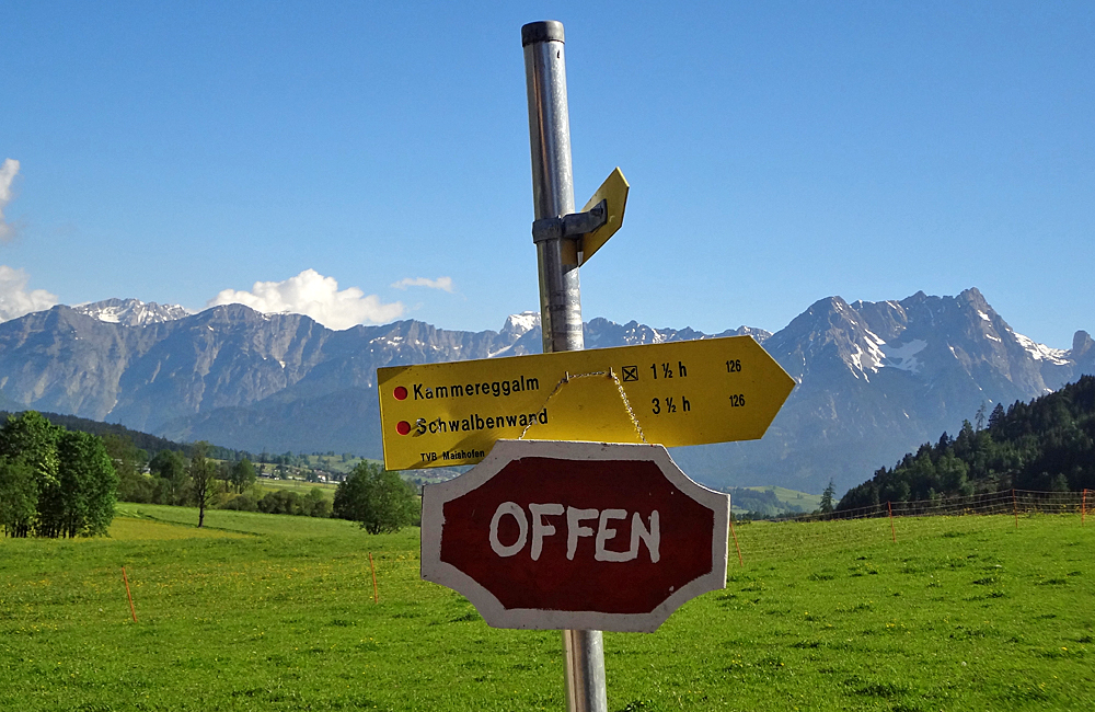 salzburg kitzbühel alps self-guided trekking