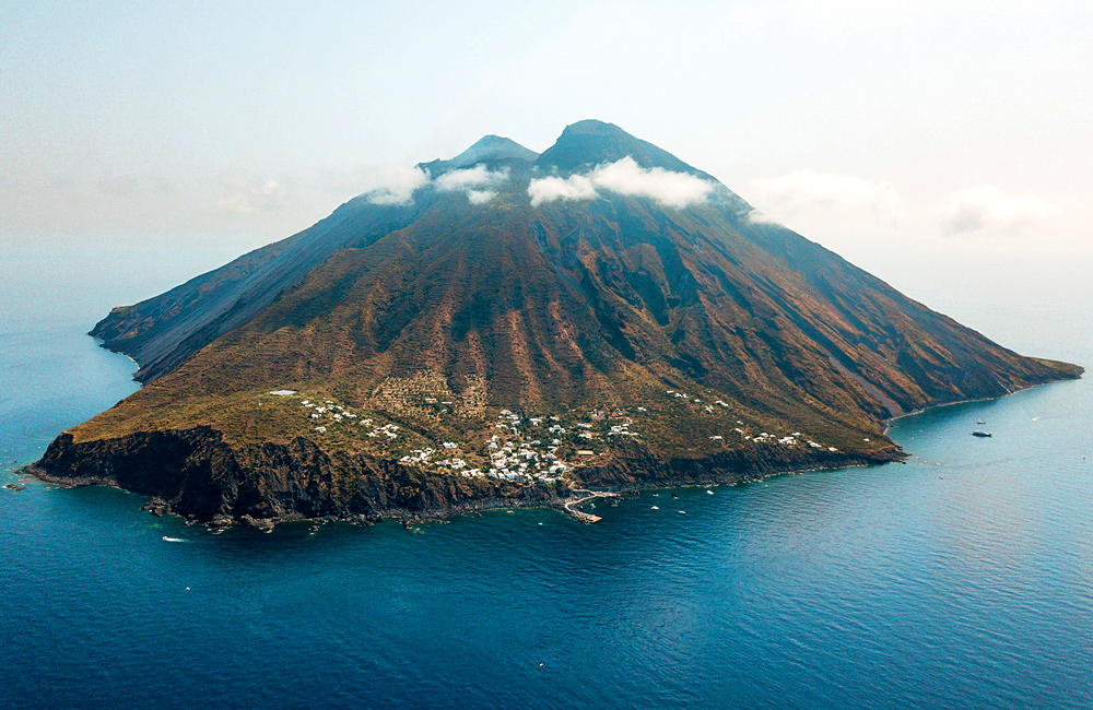 aeolian islands and sicily volcanos self-guided hiking