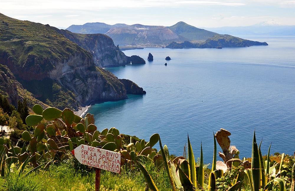aeolian islands of lipari and stromboli, and sicily etna volcano inn to inn walking