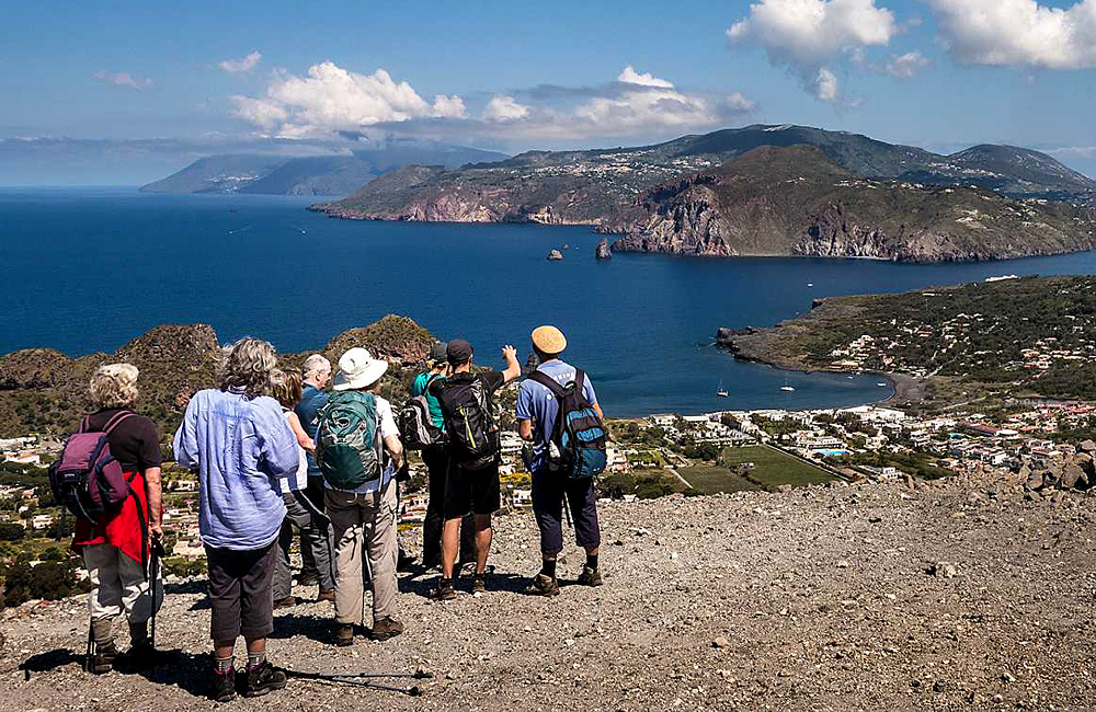 sicily and aeolian islands self-guided walking