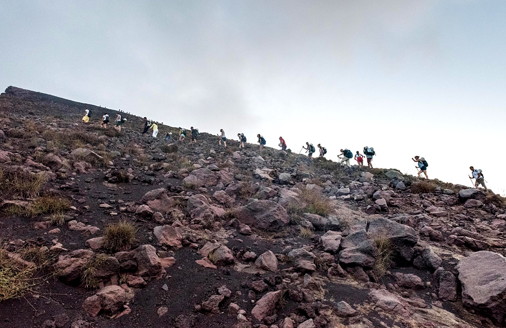 aeolian islands and sicily volcanos self-guided walking