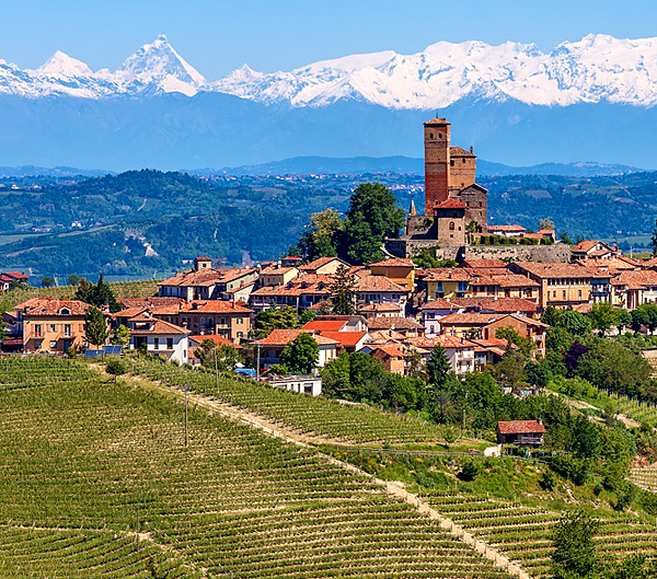 piedmont self-guided walking italy