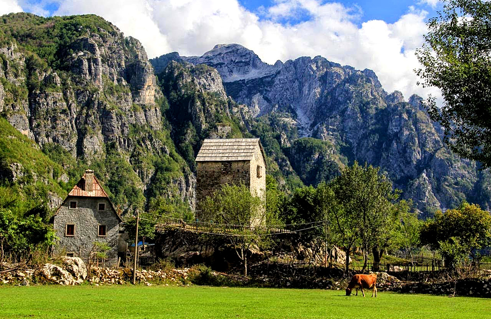 albanian alps hiking and walking tours