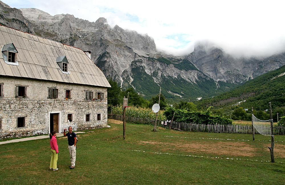 inn to inn independent trekking in theth, valbona and the accursed mountains