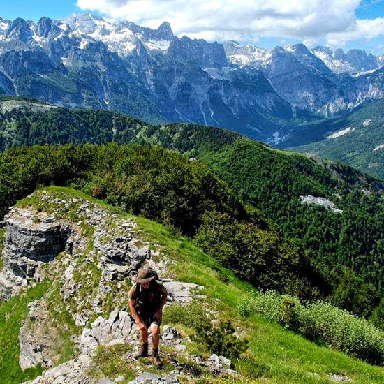 self-guided hiking in albania