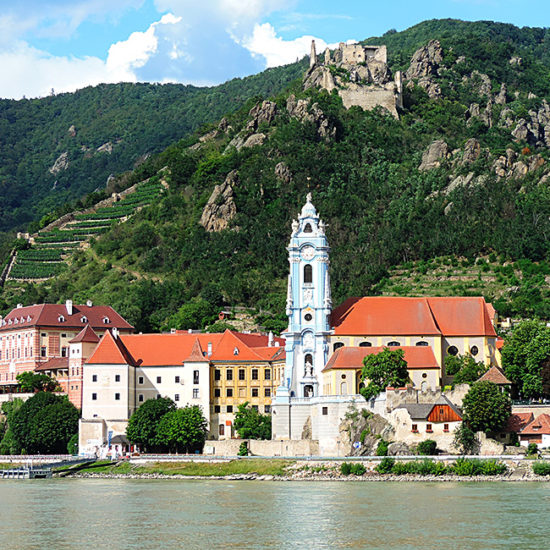 wachau heritage trail in austria along the danube