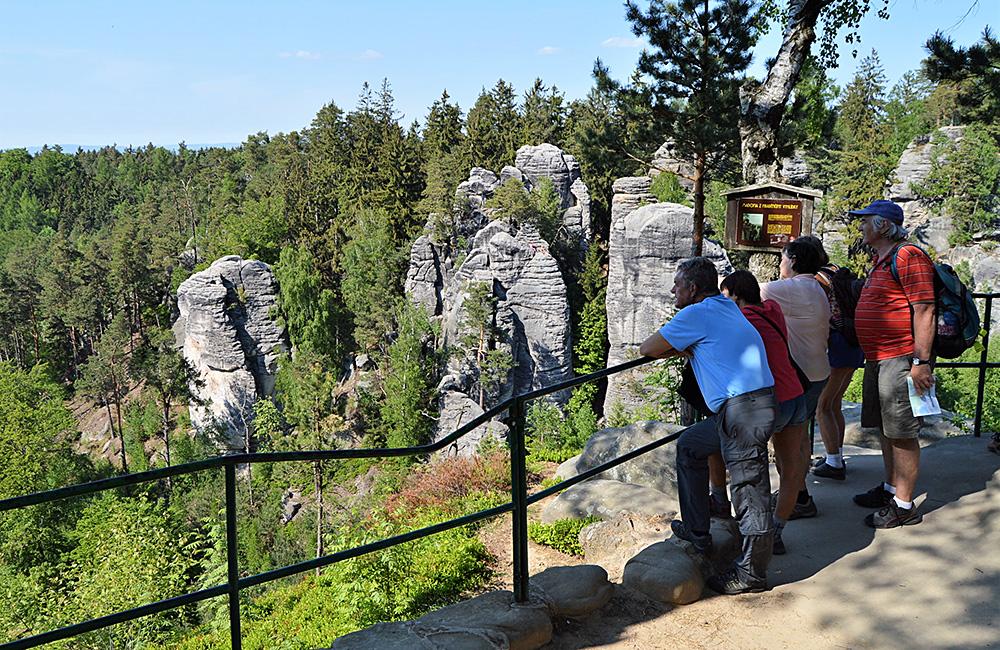 inn to inn trekking in the bohemian paradise, czech republic