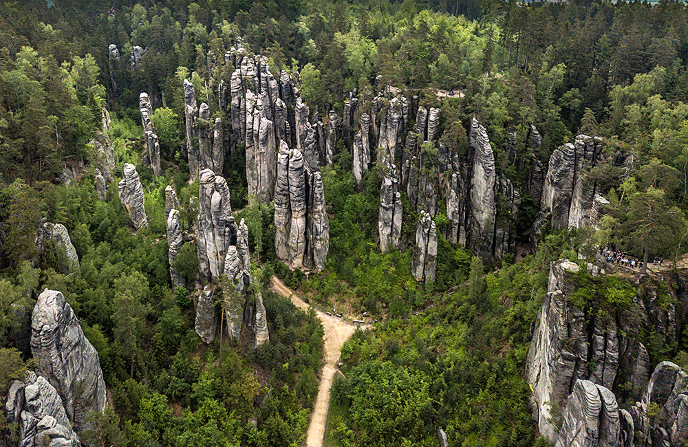 self-guided hiking in the czech republic and the bohemian paradise