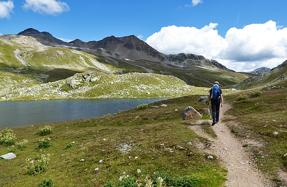 grisons independent hiking in the alps