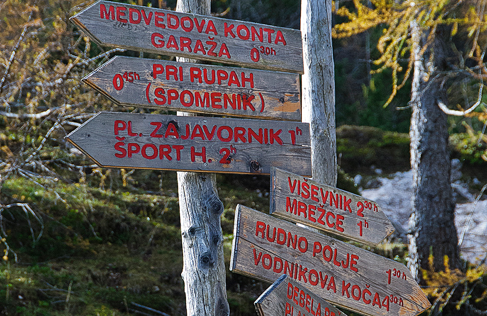 self-guided walking and hiking tours in slovenia