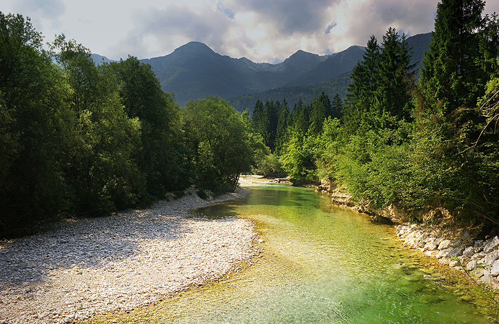 unguided rambling holidays in slovenia