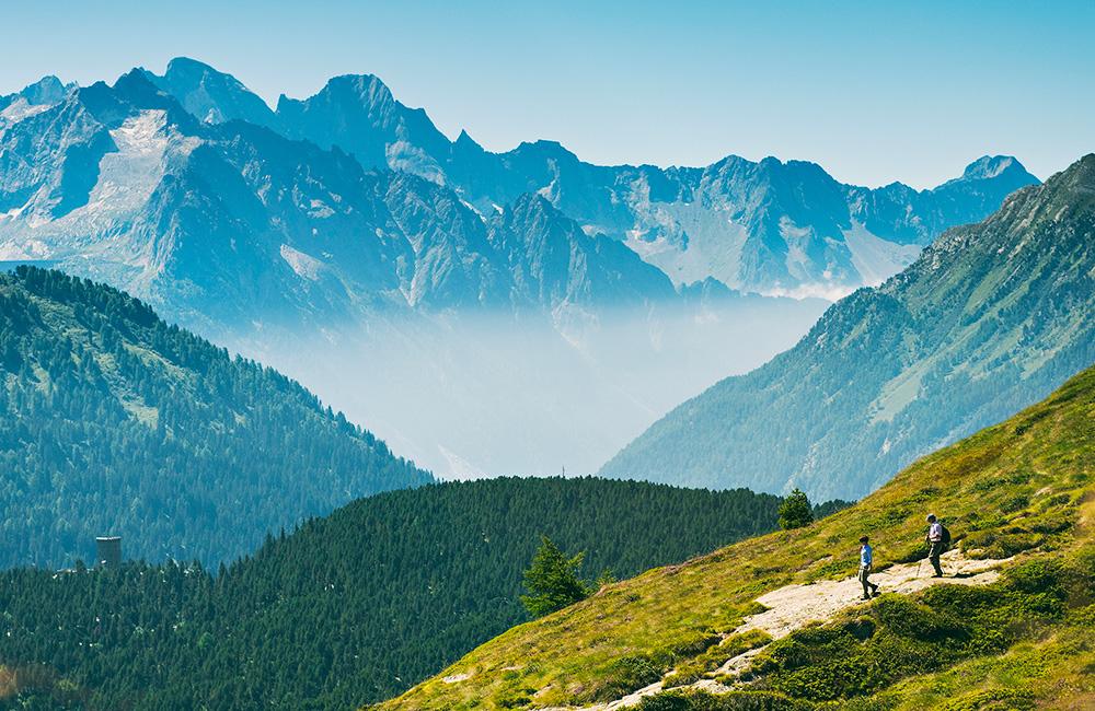 via engiadina inn to inn trekking tour in the swiss alps