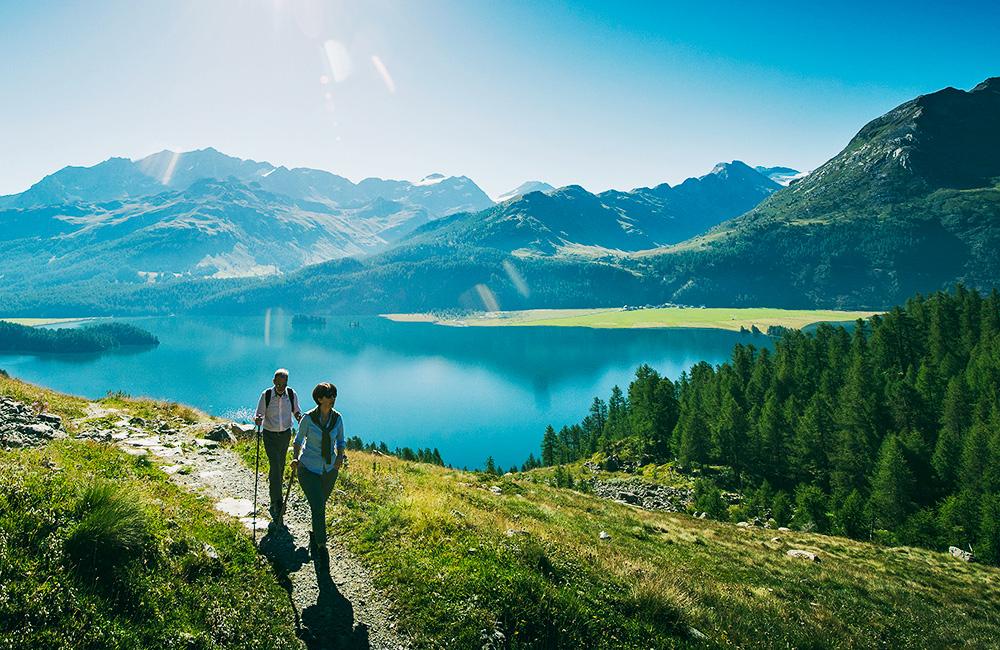 via engiadina inn to inn walking and hiking treks in switzerland