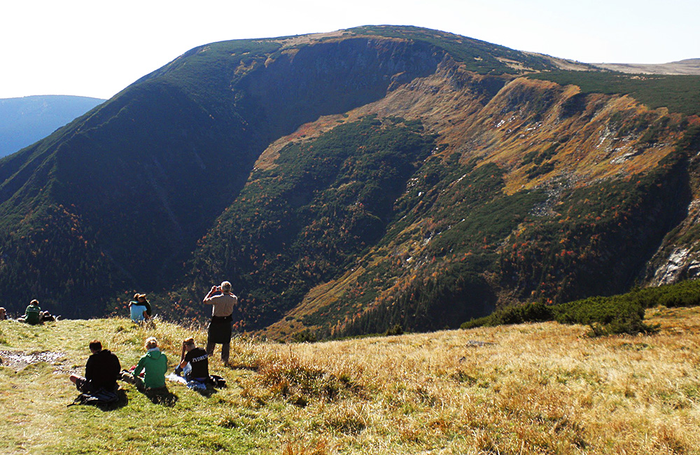czech republic self-guided rambling treks in giant mountains