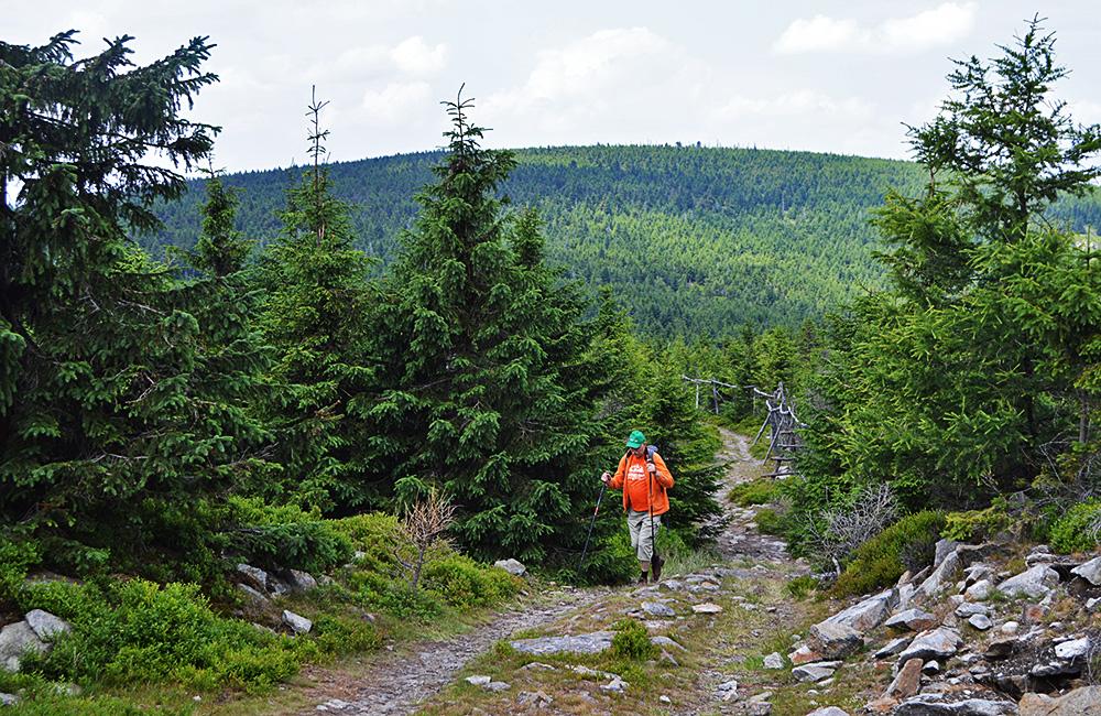 krkonose mountains self-guided trekking tour