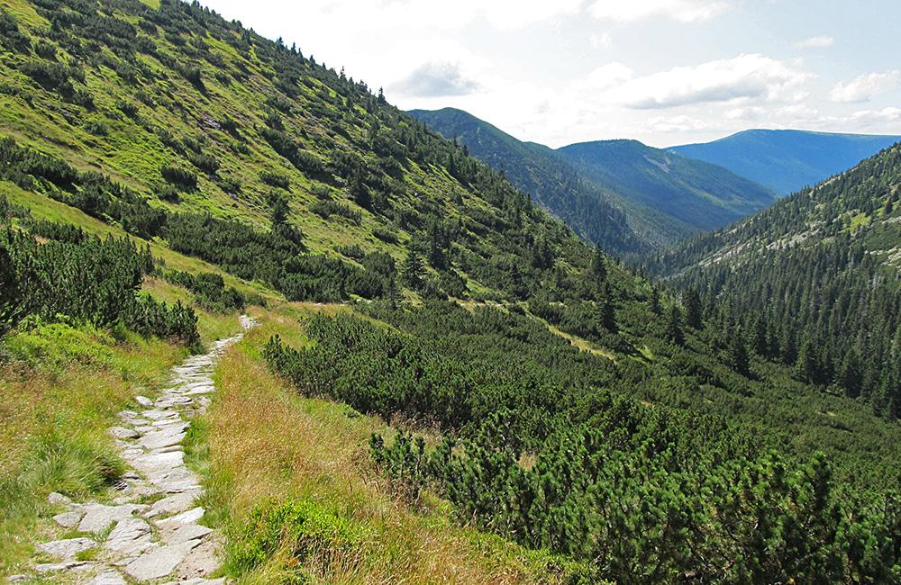 czech republic giant mountains self-guided walk