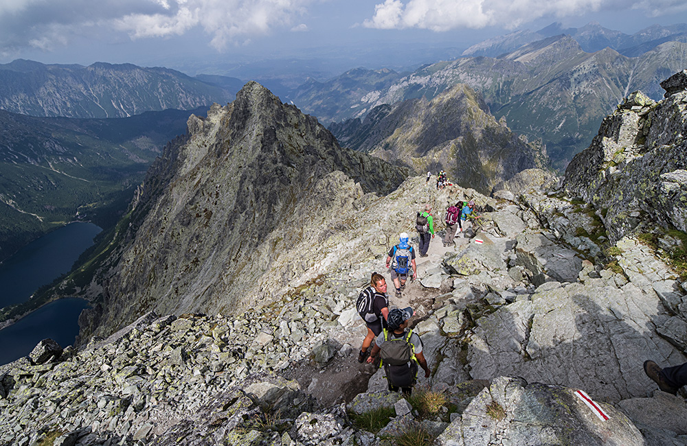 unguided trekking in the high tatras