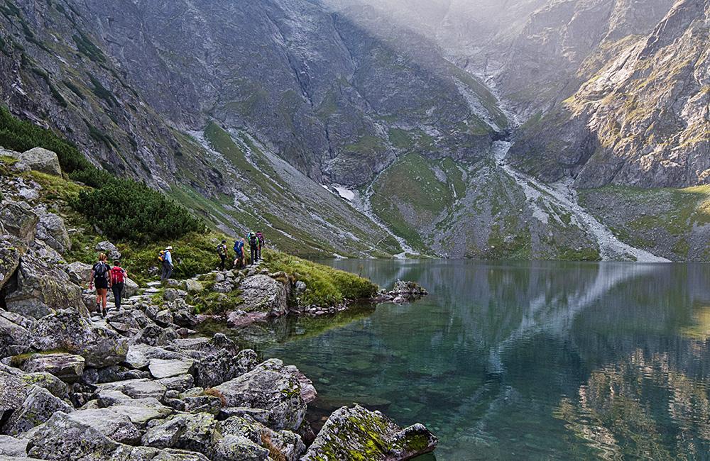hiking and walking inn to inn in poland