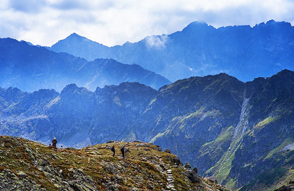 independent trekking vacations in the high tatras