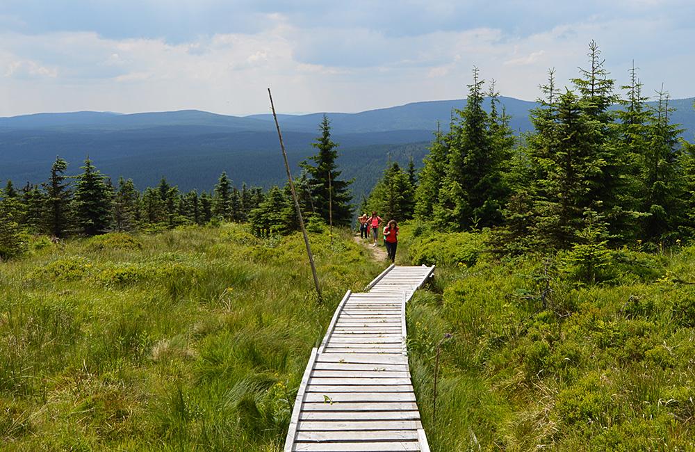 krkonose (giant mountains) self-guided hiking tour