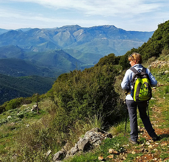 menalon hiking trail in greece