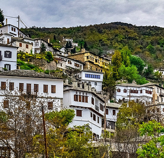 pelion self-guided walking and hiking in greece