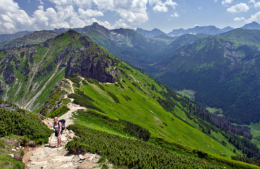 independent walking vacations in the high tatras in poland
