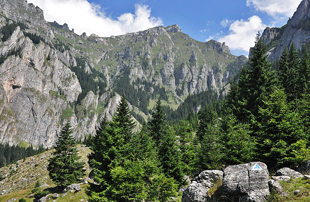 unguided rambling and trekking holidays in romania