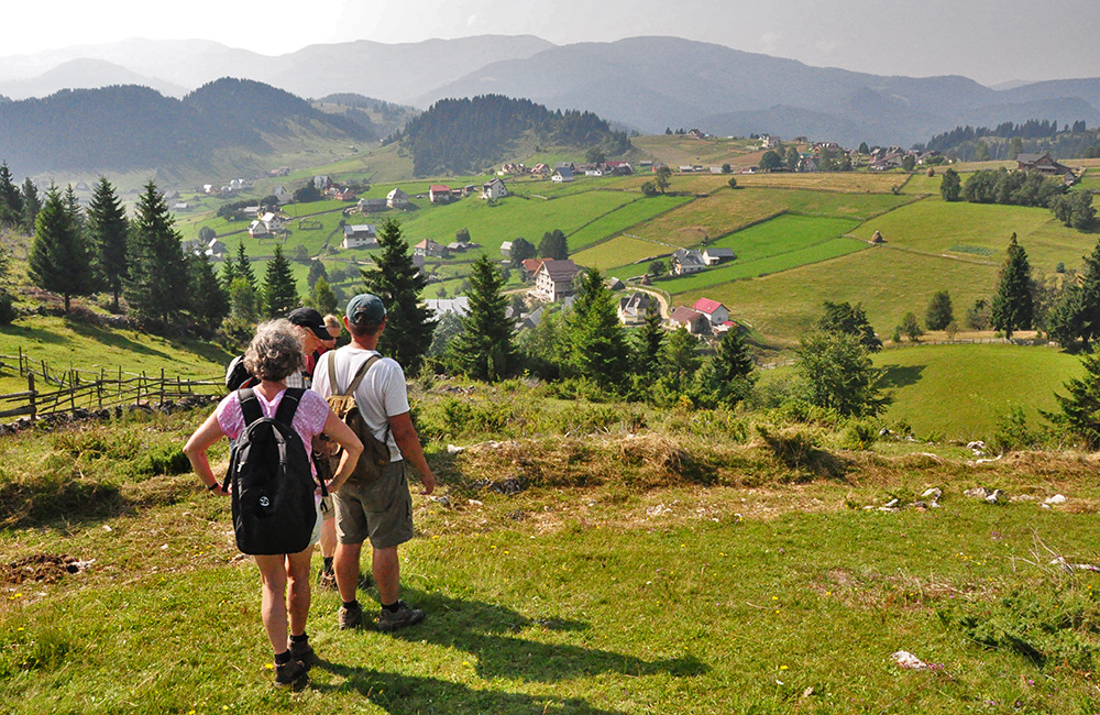 independent walking and rambling vacations in transylvania