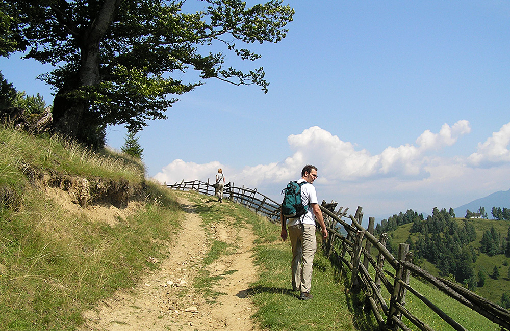 transylvania self-guided walking and hiking treks